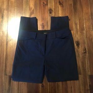 Loft navy marissa fit skinny trousers. Size 6